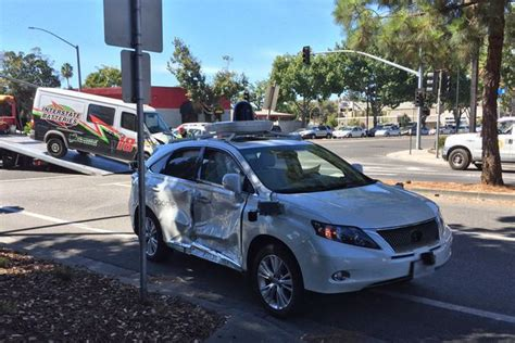 Google Driverless Car Involved In 'worst Crash Yet' After