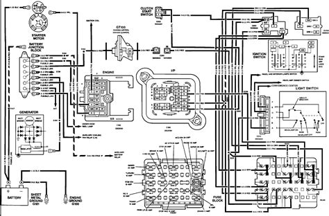 Gmc Fuse Box Diagram Wiring Schematic by Free Wiring Diagram 1991 Gmc 1991 Gmc Brake