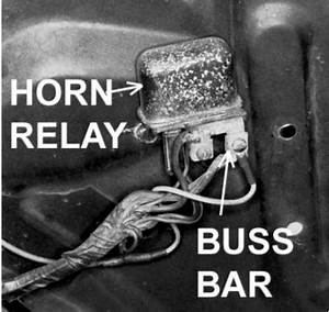 Location For Horn Relay For 1977 Oldsmobile Cutlass Salon