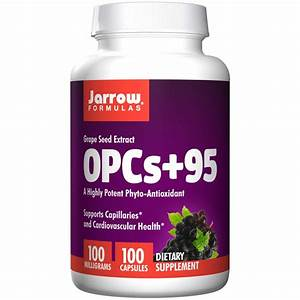 Buy Opcs   95 Grape Seed Extract 100 Mg  100 Capsules