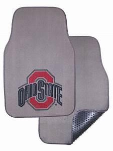 ohio state buckeyes auto floor mat set of 2 car mats With ohio state floor mats
