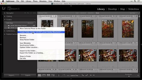 Find A Missing Folder In Lightroom Youtube