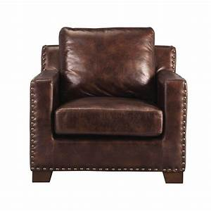 Home Decorators Collection Garrison Brown Bonded Leather