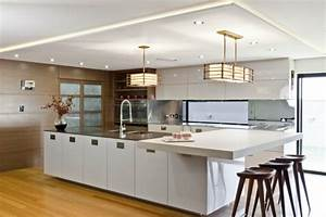 Moderne Hängeleuchten Design : h ngeleuchte in der k che eine leuchtende und stilvolle idee ~ Michelbontemps.com Haus und Dekorationen
