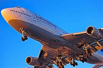747 Boeing Lufthansa 400 Abvp Airplanes Landing