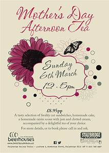 Beerhouses | Mothers Day – Afternoon Tea