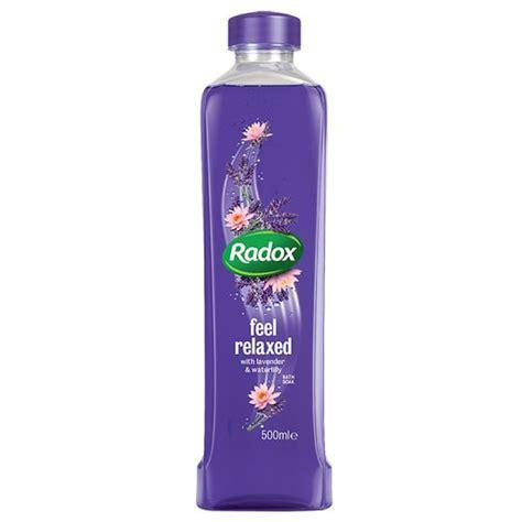 Radox Bath Soak   Lavender & Waterlily 500ml   Bath & Body