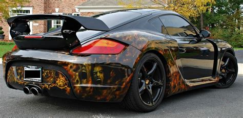 Custom Cayman S With Techart Wide-body Kit And
