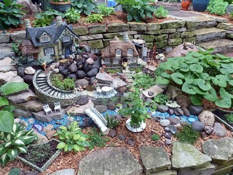 Creating A Fairy Garden In The Landscape