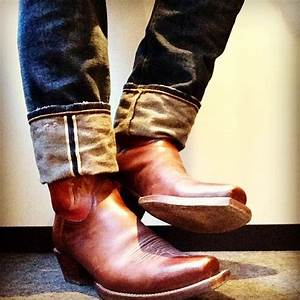 Lucchese Cowboy Boots and Jeans - Mensfash