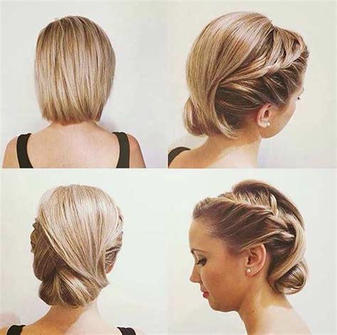 trubridal wedding blog  wedding hairstyles  short