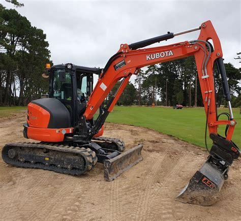 find kubota  ton mini excavator  cab  glenbrook machinery shop   excavators