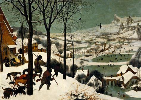 hunters   snow  pieter bruegel  elder
