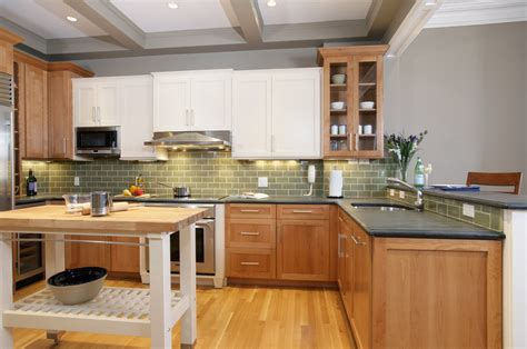 light wood kitchen designs cherry oak cabinets for the kitchen ideas 7018