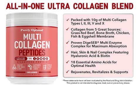 Amazon.com: Premium Multi Collagen Powder - 5 Types of