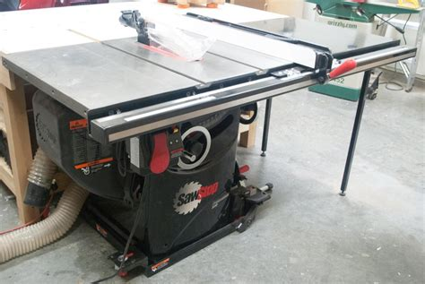 table saw safety stop review my thoughts on the sawstop professional table saw