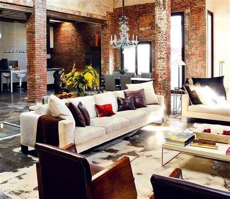 Loft Character by Renovated Loft In Barcelona Brimming With Industrial