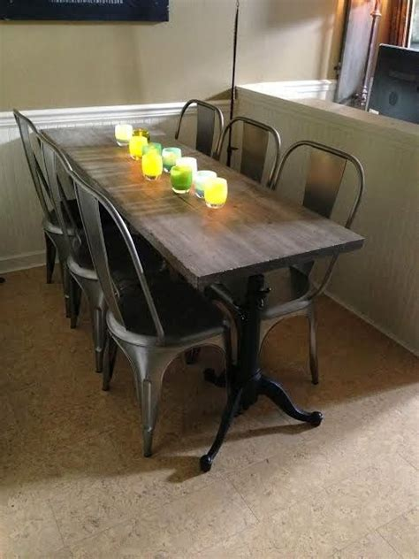 narrow dining table ideas the 25 best narrow dining tables ideas on pinterest