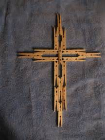 Clothespin Cross Craft