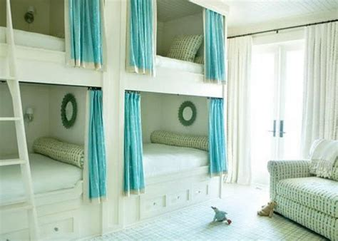 loft bed curtains bunk beds optimal solution for large families