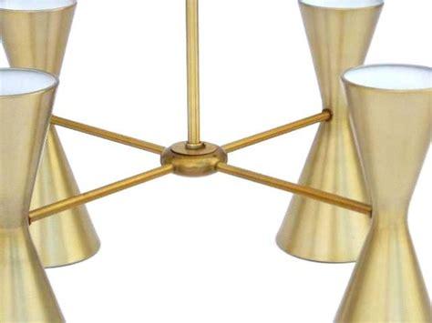 brushed gold light fixture 3 vintage brushed gold light fixtures by gotham sold each