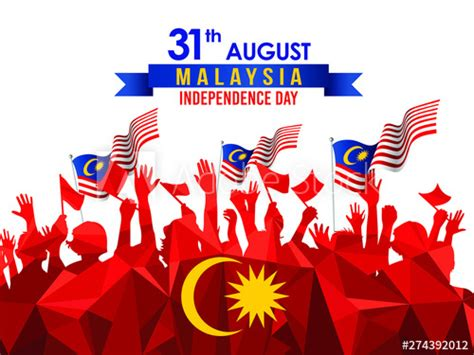 Vector illustration of 31 AUGUST HAPPY INDEPENDENCE DAY ...