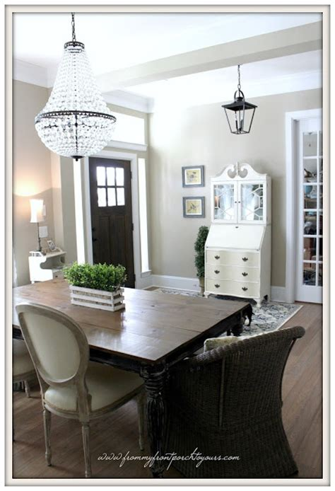 foyer chandelier from my front porch to yours farmhouse foyer big plans Farmhouse