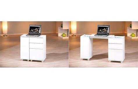 petit bureau blanc armoire de bureau blanc laque