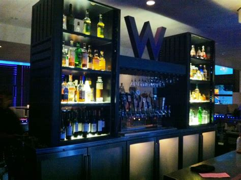 W Hotel Living Room Bar