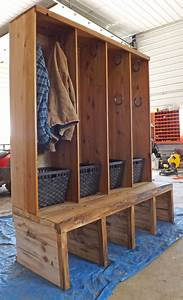Mudroom Makeover Project Laundry Rack Pinterest
