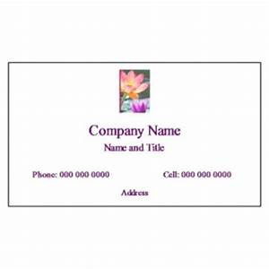 free averyr template for microsoftr word business card With avery template 8869