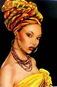 Afro natural hair art   Afro Art   Pinterest   African ...