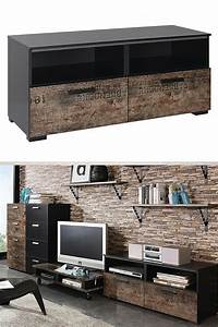 Meuble Industriel Vintage : meuble tv industriel pas cher le top10 ~ Nature-et-papiers.com Idées de Décoration