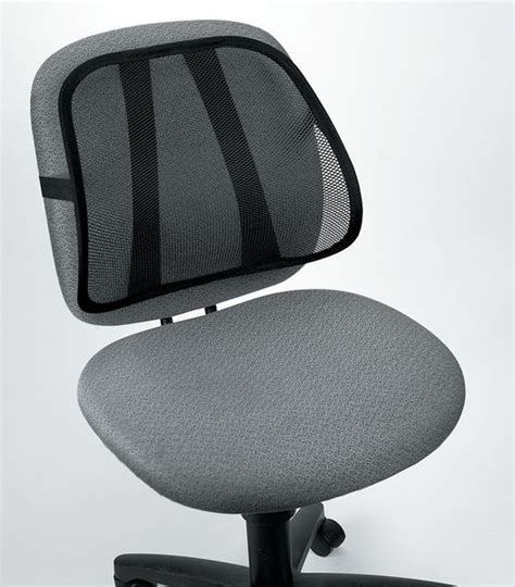 soutien lombaire ergonomique pour chaise de bureau seton fr