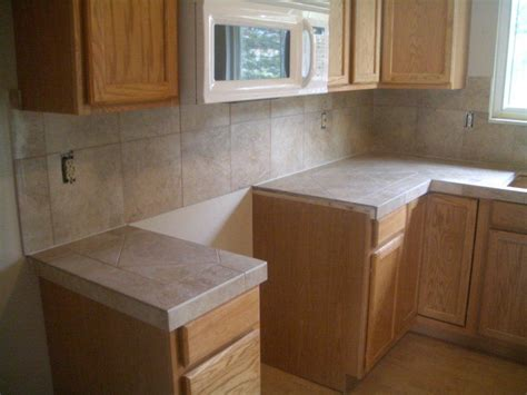 Ceramic Tile Kitchen Countertop  Ceramic Tile Kitchen