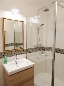 Bac De Douche À L Italienne : sandrine carr d coratrice salle d 39 eau douche douche l 39 italienne ~ Farleysfitness.com Idées de Décoration