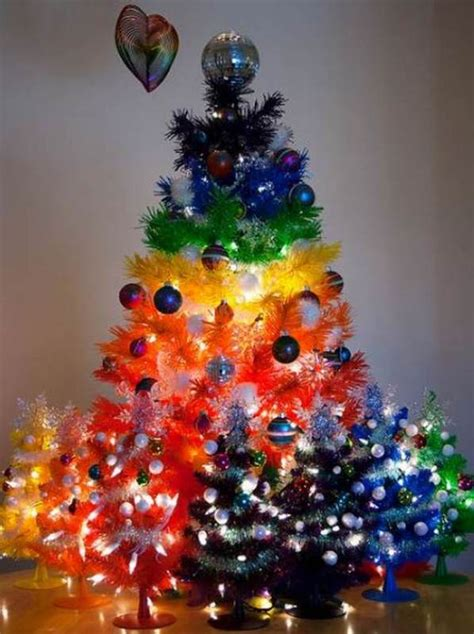 awesome christmas decorations 30 colorful tree decorations ideas for this season magment
