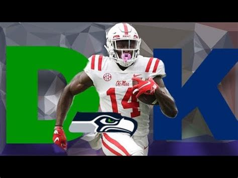 seattle seahawks draft dk metcalf youtube