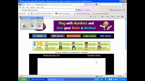 Math Playground Thinking Blocks Videos.wmv