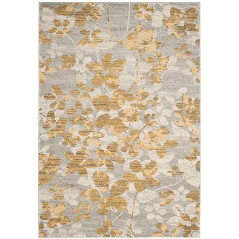 Rug Gold by Safavieh Evoke Grey Gold 4 Ft X 6 Ft Area Rug Evk236p 4