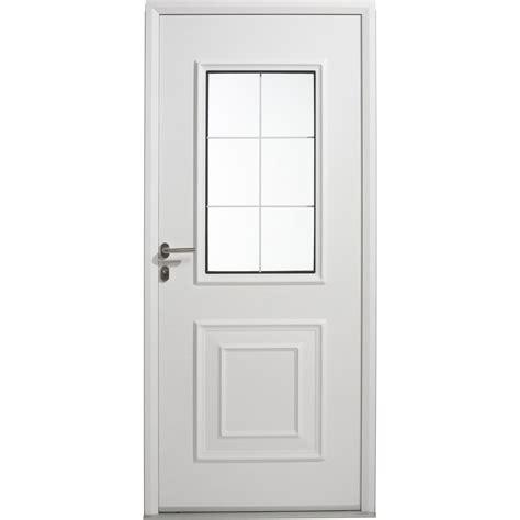 porte entree leroy merlin porte d entr 233 e aluminium utah artens poussant gauche h 215 x l 90 cm leroy merlin
