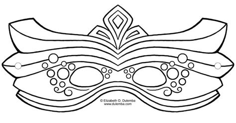 Masquerade Mask Template For Adults by 17 Free Mardi Gras Mask Templates For And Adults