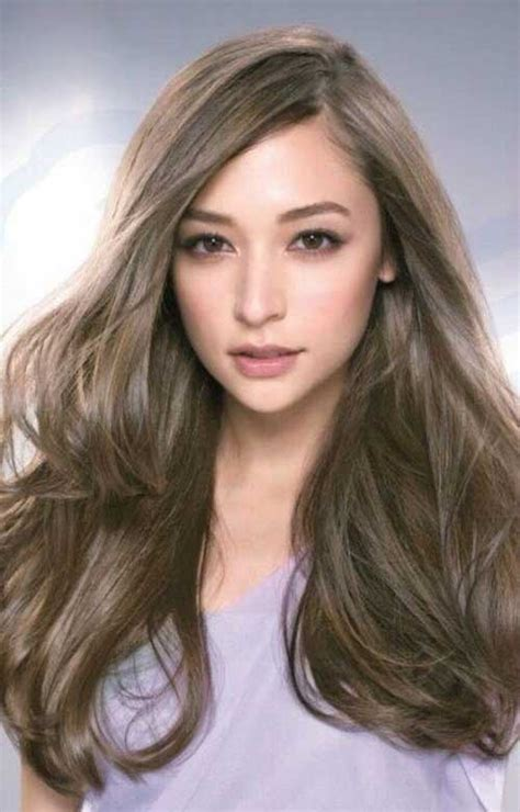 ashy brown hair color 20 ash brown hair color hairstyles 2016 2017