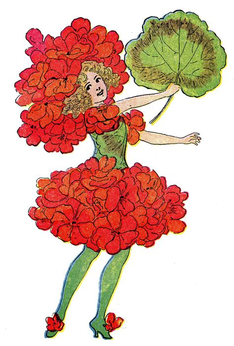 21 Flower Fairy Clipart The Graphics Fairy