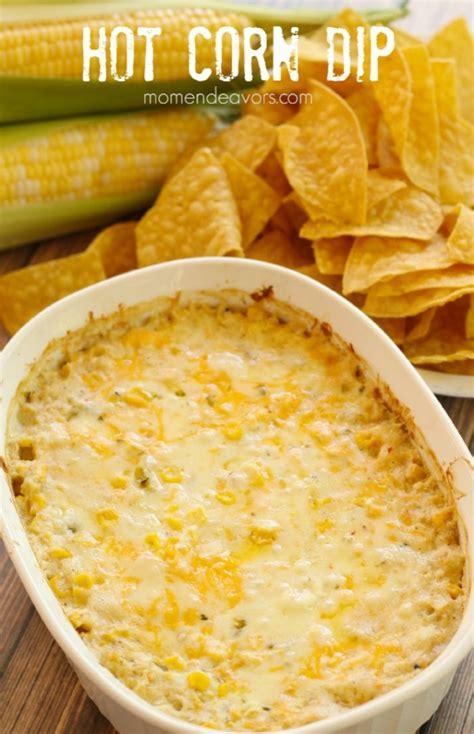 hot corn dip football game day ideas