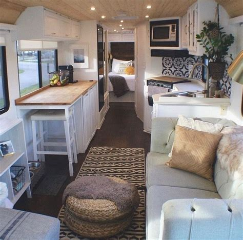 amazing rv makeovers modern rustic farmhouse style
