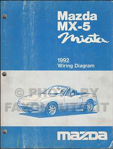 1997 Mazda Mx 5 Miata Wiring Diagram Manual Original