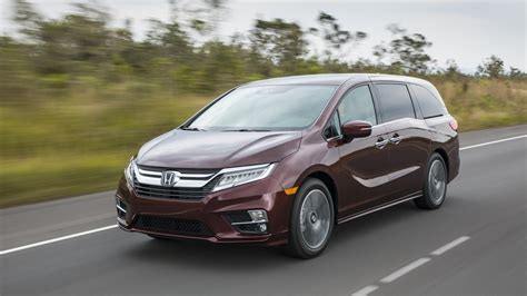 Honda Brings Nothing New To The Odyssey For 2019 Except ...