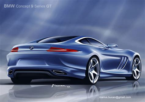 Bmw I Series by Bmw Concept 9 Series Gt