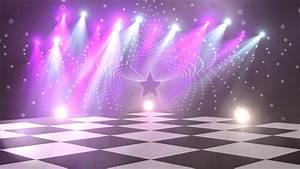 Virtual Dance Floor Disco Lights Background 4 - For Titles ...